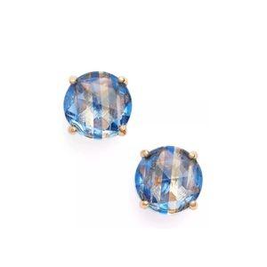 Kate Spade Bright Ideas Sapphire Stripe Earrings